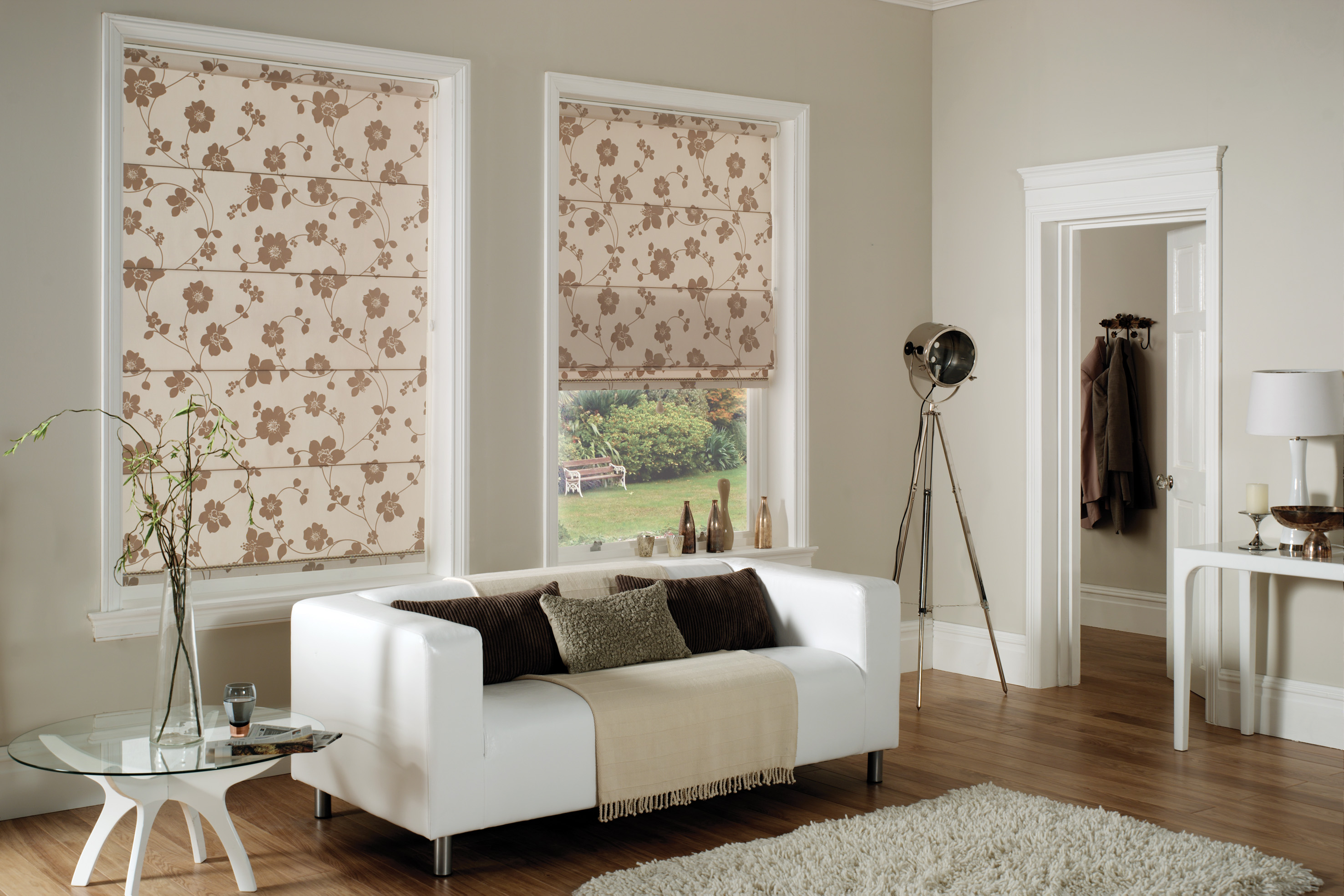 type: roman blinds
